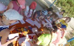 Мастер классы в детском лагере «Голубая волна»