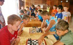 Досуг, шахматы. ДОЛ «Голубая волна»